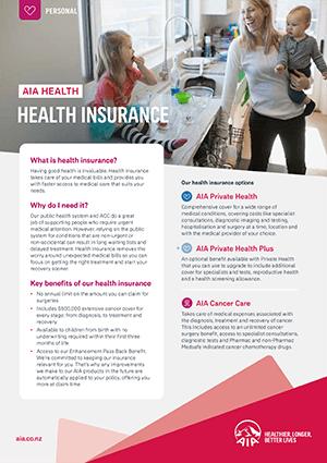 Health Insurance Brochure